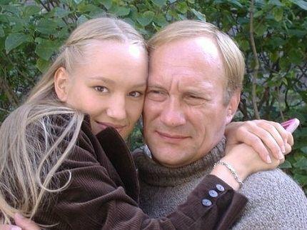 С любимым отцом