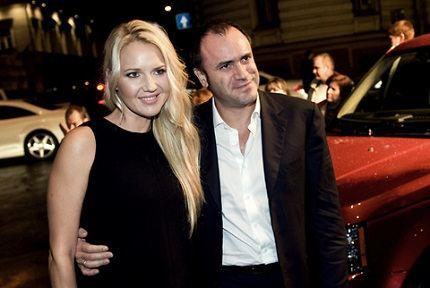 С супругом Алексеем Кравцовым