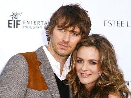 Алисия с мужем