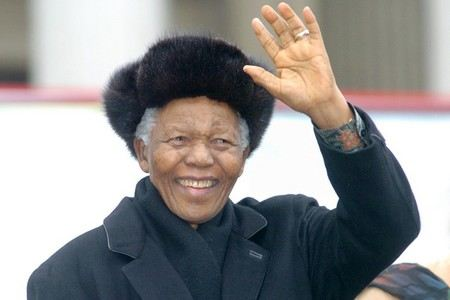 Нельсон Мандела боролся с апартеидом