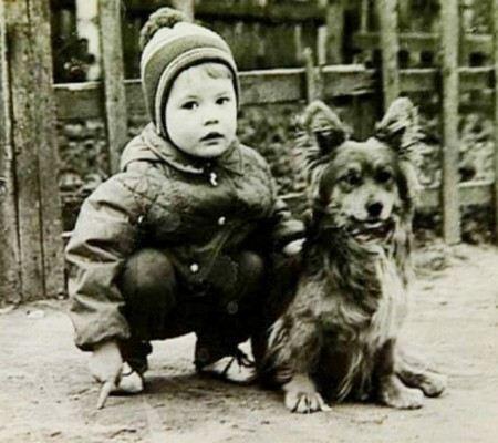 Андрей Данилко родился в бедной семье в Украине