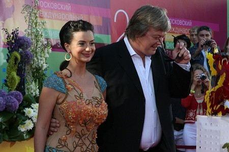 Александр Стриженов с женой Екатериной
