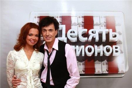 Геннадий Ветров с женой Кариной Зверевой