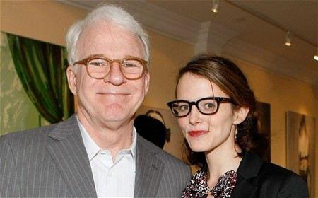 Стив Мартин со второй женой Анной Стрингфилд
