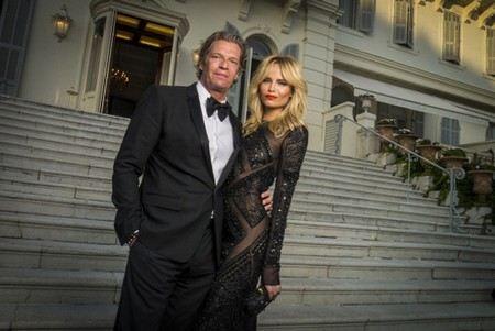 Наташа Поли с мужем Питером Баккером