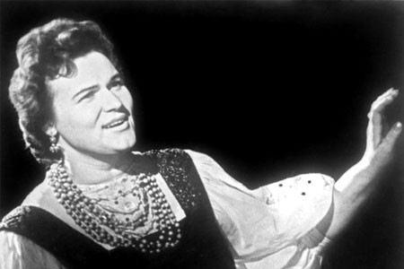 Людмила Зыкина, фото в молодости