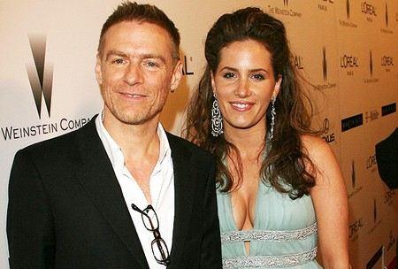 Брайан Адамс с гражданской женой Алисией Гримальди