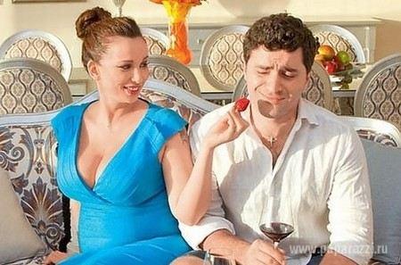 Гурам Баблишвили с гражданской женой Анфисой Чеховой