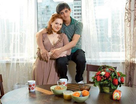 Михаил Башкатов с женой Екатериной воспитывают сына Тимофея