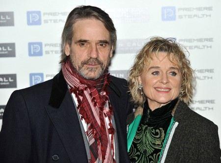 Джереми Айронс со второй женой Шинед Кьюсак