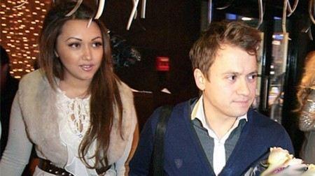 Андрей Гайдулян с Дианой Очиловой