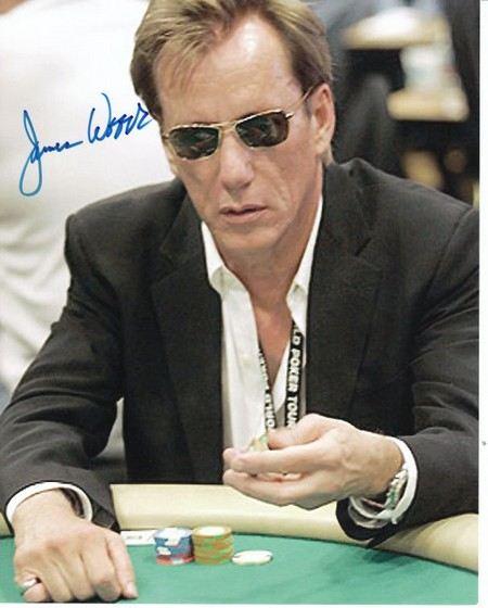 Джеймс Вудс - азартный человек