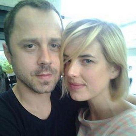 Агнесс Дейн с мужем Джованни Рибизи