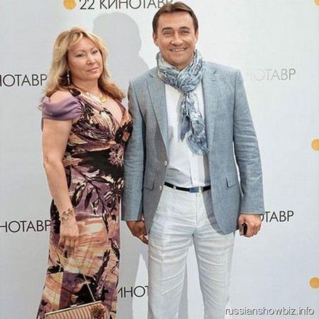 Камиль Ларин с женой Галиной