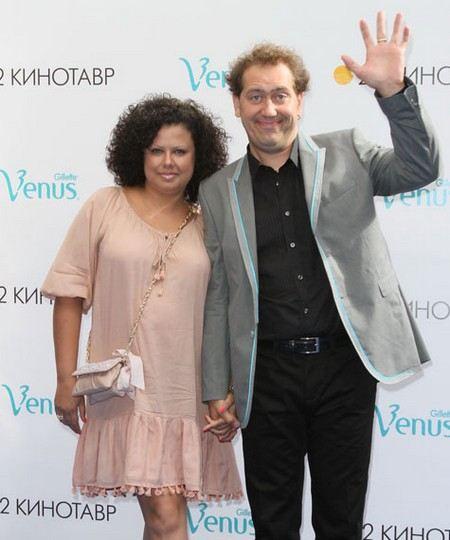 Александр Демидов с женой