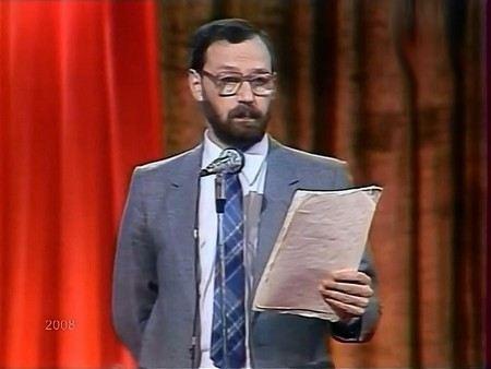 Сатирик и писатель Михаил Мишин в молодости