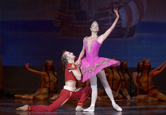 Волочкова в балете «Корсар»