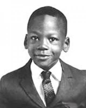 Майкл Джордан - в детстве