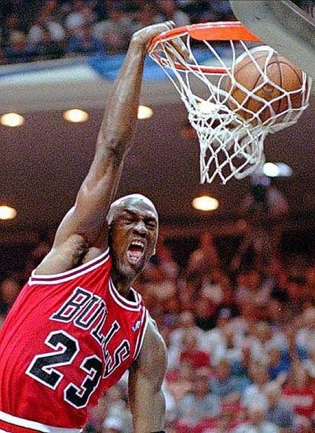 Баскетболист Майкл Джордан уже закончил карьеру