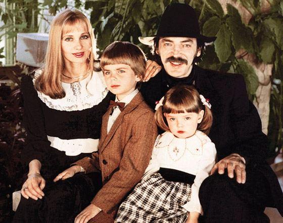 Семья Лизы Боярской: мама, папа и брат