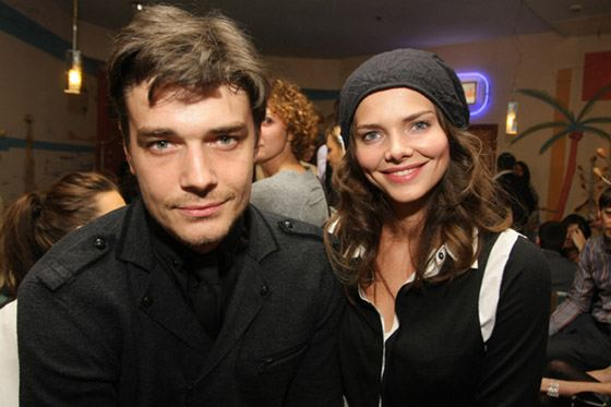 Лиза Боярская и Максим Матвеев познакомились на съемках фильма