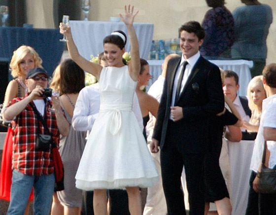 Свадьба Лизы Боярской и Максима Матвеева