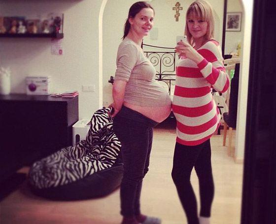 Фото из инстаграма: беременная Лиза Боярская