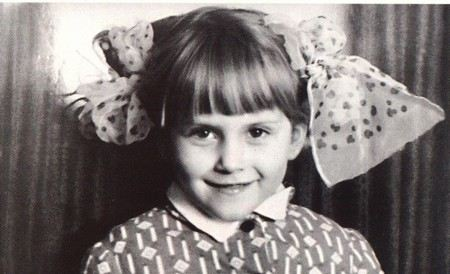 Алена Свиридова в детстве