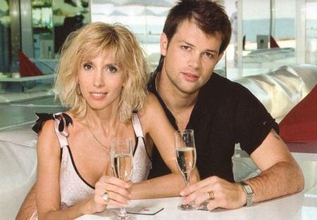 Алена Свиридова с мужем