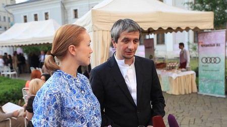 Актриса Дарья Мороз с мужем Константином Богомоловым