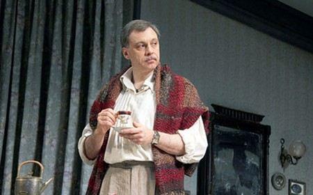 Актер Сергей Чонишвили сейчас больше работает в театре, чем снимается в кино