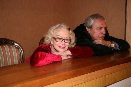 Светлана Немоляева с мужем Александром Лазаревым