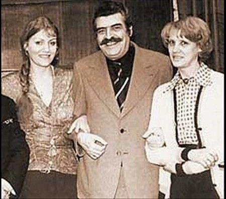 Анна Герман, Ян Френкель и Анна Качалина.