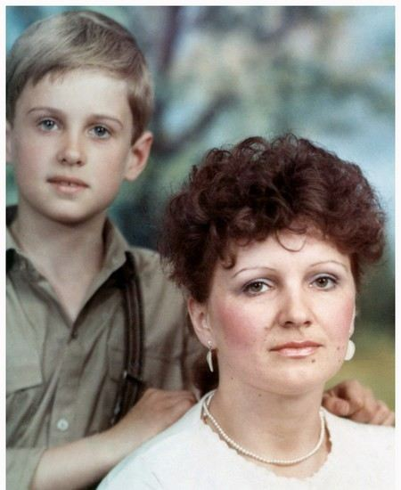 Алексей Комашко в детстве