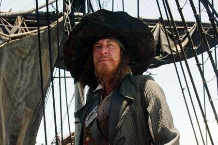 Джеффри Раш в Пиратах Карибского моря
