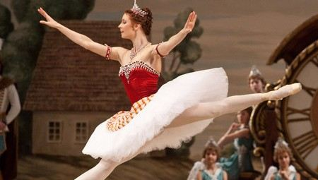 Балерина Мария Александрова родилась в Москве