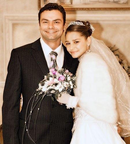 Актер Алексей Фаддеев с женой Глафирой Тархановой