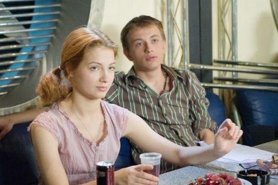 Актер Андрей Щипанов вместе с Марией Луговой