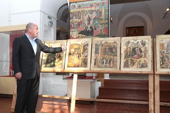 Бизнесмен Михаил Абрамов - основатель Музея русской иконы