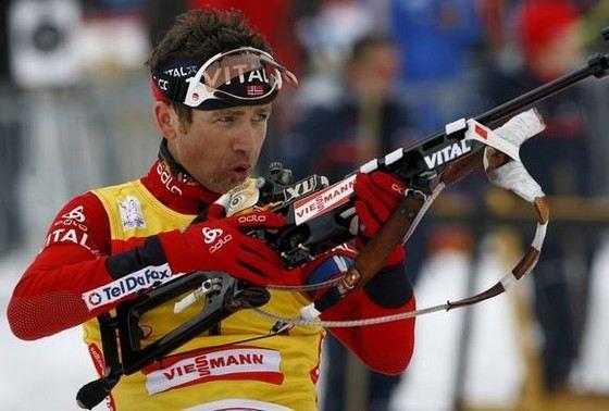 Легендарный биатлонист Уле-Эйнар Бьерндален еще не закончил карьеру