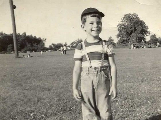Писатель Стивен Кинг в детстве