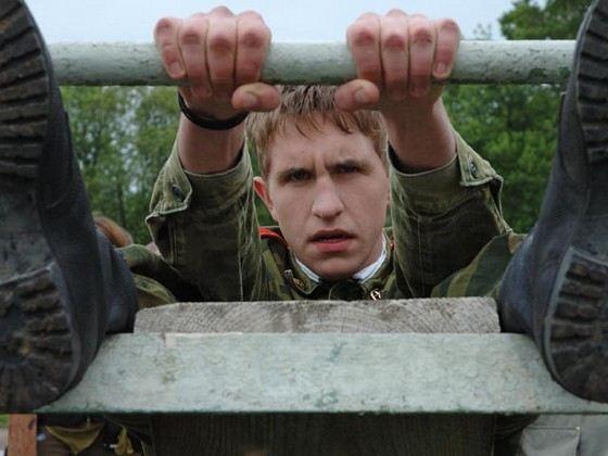 Актер Иван Добронравов в сериале Кадетство