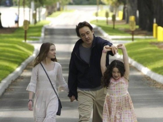 Джон Кьюсак с семьей