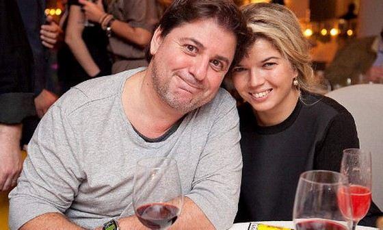 Александр Цекало с женой Викторией Галушка