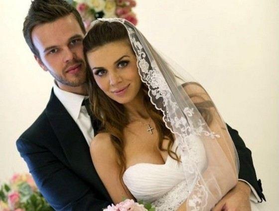 Максим Чернявский с бывшей женой Анной Седоковой