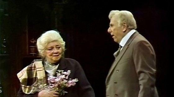 Ростислав Плятт и Фаина Раневская - легендарные советские актеры