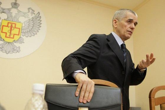 Геннадий Онищенко ушел в отставку с поста главы Роспотребнадзора