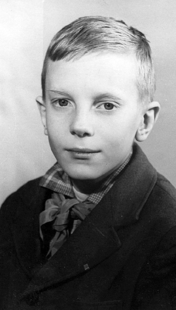 Певец Виктор Салтыков в детстве