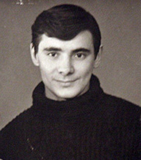 Актер Александр Панкратов-Чёрный в молодости