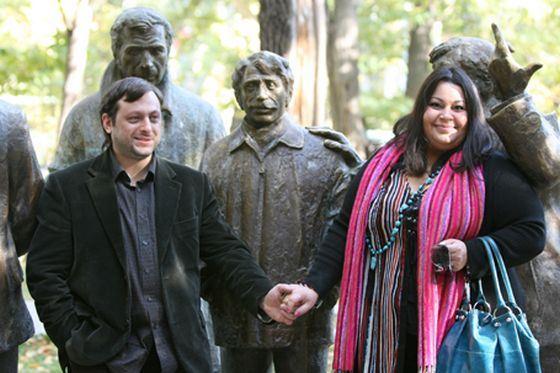 Мариам Мерабова с мужем Арменом